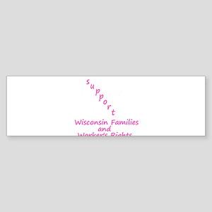 Support - Pink Sticker (Bumper)