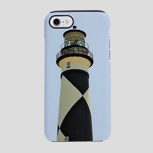 Cape Lookout Lighthouse. iPhone 7 Tough Case