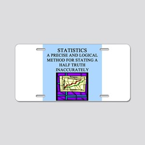 funny math geek gifts Aluminum License Plate
