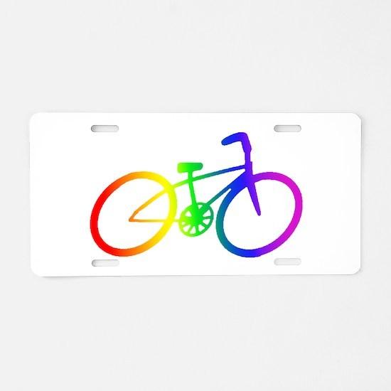 Biking Aluminum License Plate