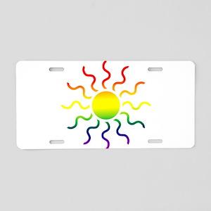 Triabl Sun Aluminum License Plate