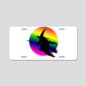 Witch Moon Aluminum License Plate