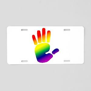 Hand Aluminum License Plate