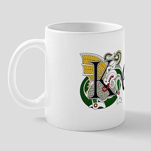 Kelly Celtic Dragon Mug