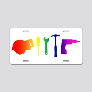 Tools Aluminum License Plate