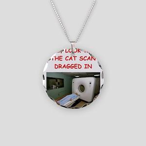 doctor joke Necklace Circle Charm