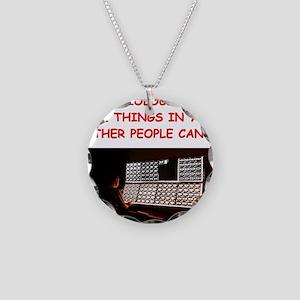 radiology radiologist joke Necklace Circle Charm