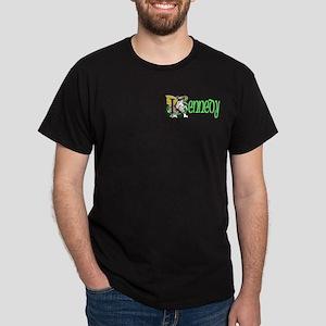 Kennedy Green 2 Celtic Dragon Dark T-Shirt