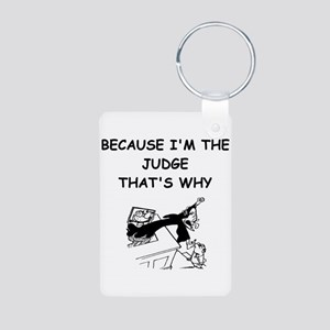 judge gifts t-shirts Aluminum Photo Keychain