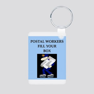 mailman gifts and t-shirts Aluminum Photo Keychain