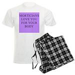mortician gifts t-shirts Men's Light Pajamas