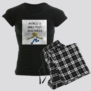 world's greatest waitress Women's Dark Pajamas