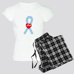 Lt. Blue Hope Women's Light Pajamas