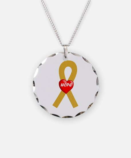 Gold Hope Necklace
