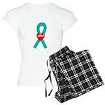 Teal Hope Women's Light Pajamas