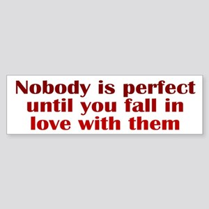 Perfect Love Sticker (Bumper)