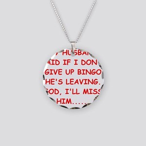 bingo player gifts Necklace Circle Charm
