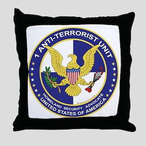 """Anti-Terrorist Unit"" - Throw Pillow"