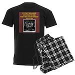 duplicate bridge player gifts Men's Dark Pajamas