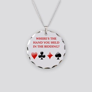 duplicate bridge gifts Necklace Circle Charm