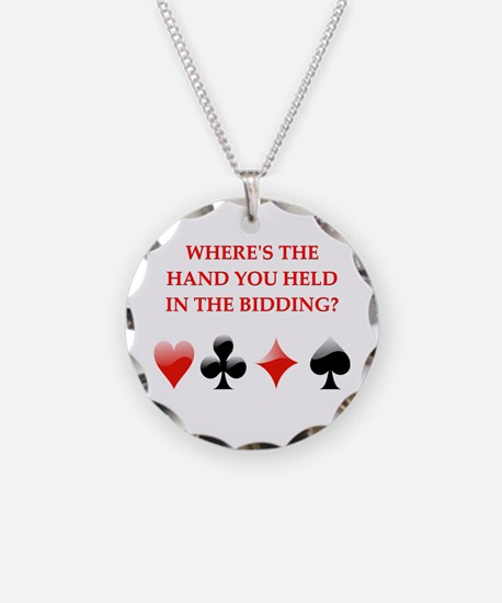 duplicate bridge gifts Necklace