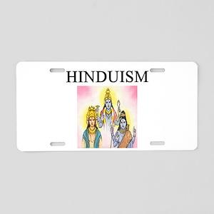 hindu gifts t-shirts Aluminum License Plate