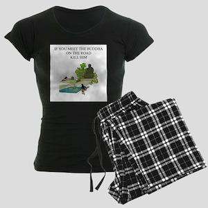 zen buddhist gifts and t0shir Women's Dark Pajamas
