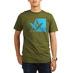 Blue Lodge Organic Men's T-Shirt (dark)