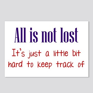 All is not Lost Postcards (Package of 8)
