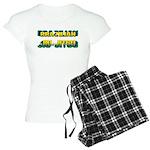 Brazilian Jiu Jitsu Women's Light Pajamas