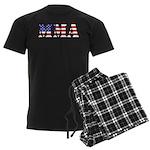 MMA USA Men's Dark Pajamas