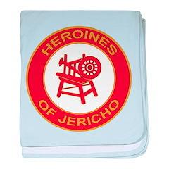 Heroines of Jericho baby blanket