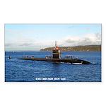 USS CHICAGO Sticker (Rectangle)