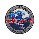 """USS CHICAGO 3.5"""" Button"""