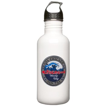 USS CHICAGO Stainless Water Bottle 1.0L