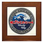 USS CHICAGO Framed Tile