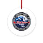 USS CHICAGO Ornament (Round)