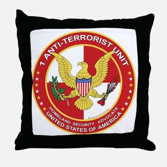 Anti-Terrorist Unit Throw Pillow