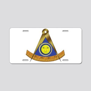 Past Master Aluminum License Plate