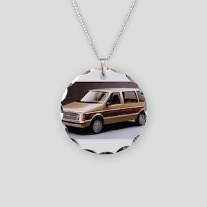 1984 Dodge Caravan Necklace Circle Charm