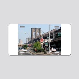 NYC Sites Aluminum License Plate