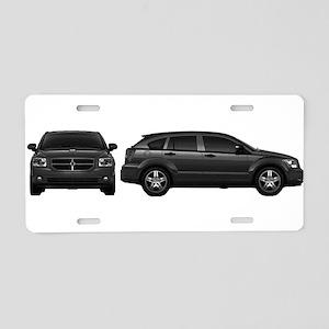 Dodge Calibur Aluminum License Plate