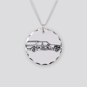 Olds Custom Crus. Necklace Circle Charm