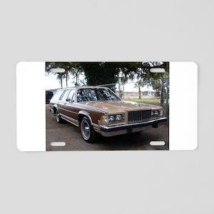 Mercury Country Squire Aluminum License Plate