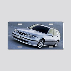 Saab 9.5 Aluminum License Plate
