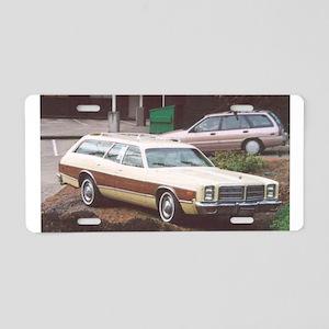1978 Dodge Monaco Aluminum License Plate