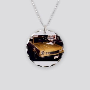 1977 Ford Pinto Necklace Circle Charm