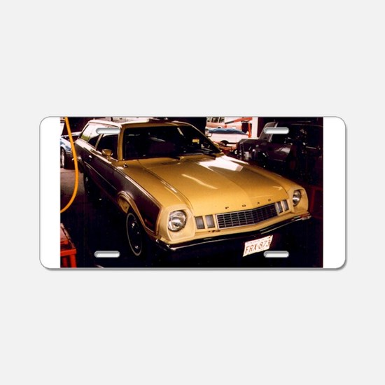 1977 Ford Pinto Aluminum License Plate