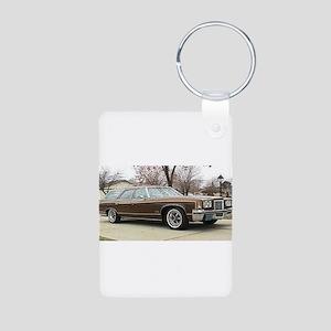 1972 Pontiac Grand Safari Aluminum Photo Keychain