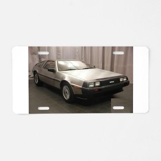 DMC Aluminum License Plate